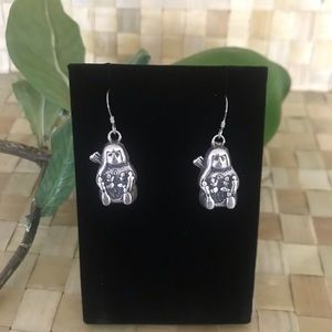 Authentic Native American Indian Brave Earrings